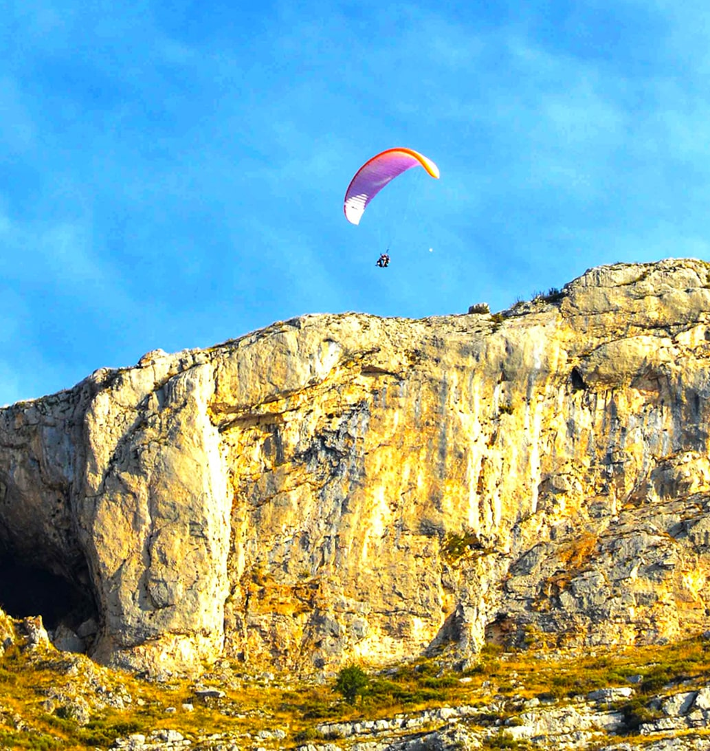 Bapteme parapente Alpes-Maritimes 06