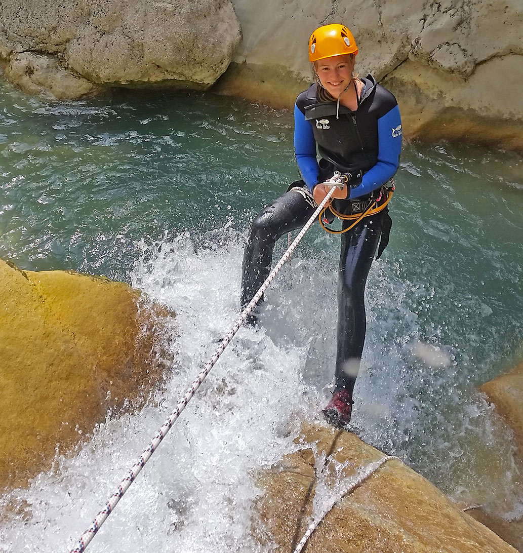 Gréolieres Canyoning